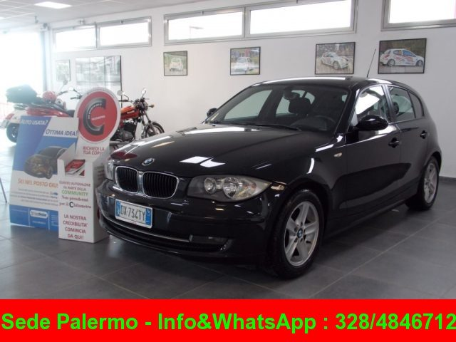 BMW 118 Black Saphire metallizzato