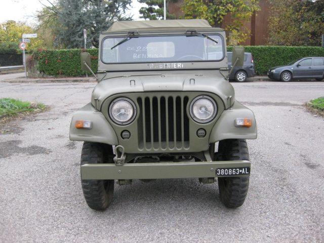 JEEP Willys M 38 A1 2.2 BENZINA  AUTO D'EPOCA TREZZANO Immagine 1