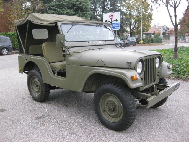 JEEP Willys M 38 A1 2.2 BENZINA  AUTO D'EPOCA TREZZANO Immagine 2