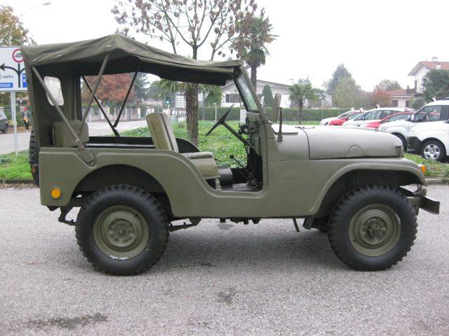 JEEP Willys M 38 A1 2.2 BENZINA  AUTO D'EPOCA TREZZANO Immagine 4