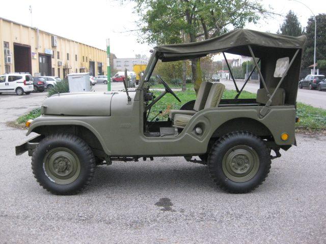 JEEP Willys M 38 A1 2.2 BENZINA  AUTO D'EPOCA TREZZANO Immagine 3