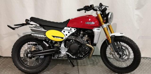 FANTIC MOTOR Caballero Scrambler 500 2020 Immagine 0