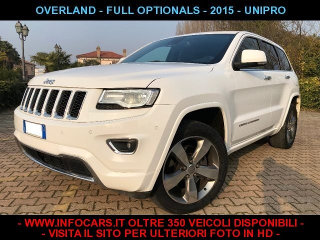 JEEP Grand Cherokee Bianco pastello