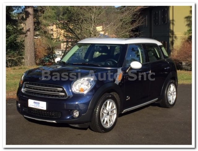 MINI Countryman Blue metallized
