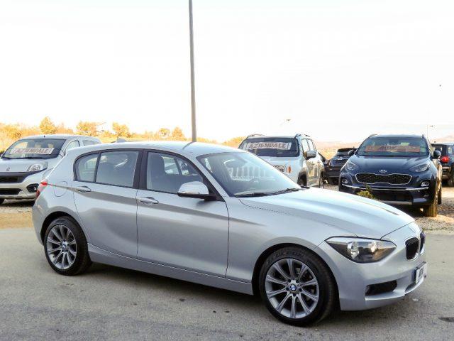 """BMW 118 d 5p. ATM-FULL LED-CERCHIMSPORT17""""-GARANZIA MAPFRE Immagine 2"""