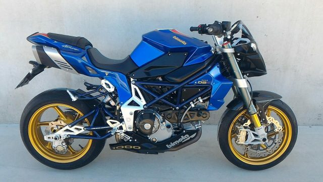 BIMOTA DB6 Delirio Blue metallized