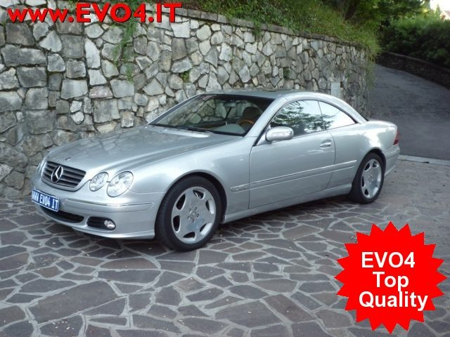 MERCEDES-BENZ CL 600 Argento metallizzato