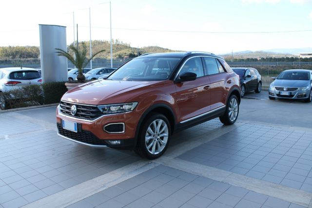 VOLKSWAGEN T-Roc Orange metallizzato