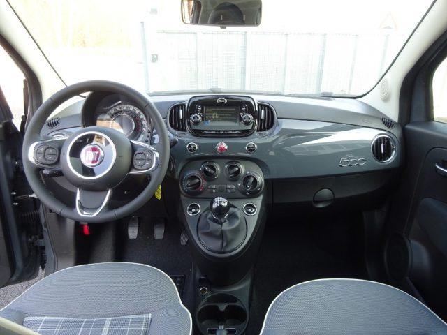 Auto Km 0 Fiat 500 1 2 69 Cv Lounge Fendinebbia Interni In Vinile