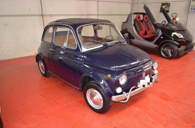 Auto Usata Fiat 500 L Mod F110 D Epoca Tettuccio Pelle Del 1972