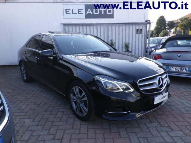 MERCEDES-BENZ E 220 Nero metallizzato
