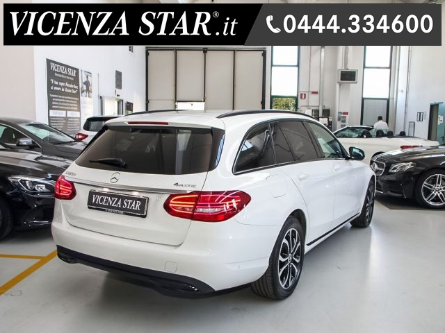 MERCEDES-BENZ C 220 d S.W. 4Matic AUTOMATIC SPORT RESTYLING Immagine 1