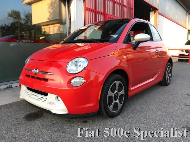 FIAT 500e Orange metallizzato