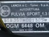"""LANCIA Fulvia Sport 1.3 S Zagato """" RESTAURATA """" TARGHE NERE """""""