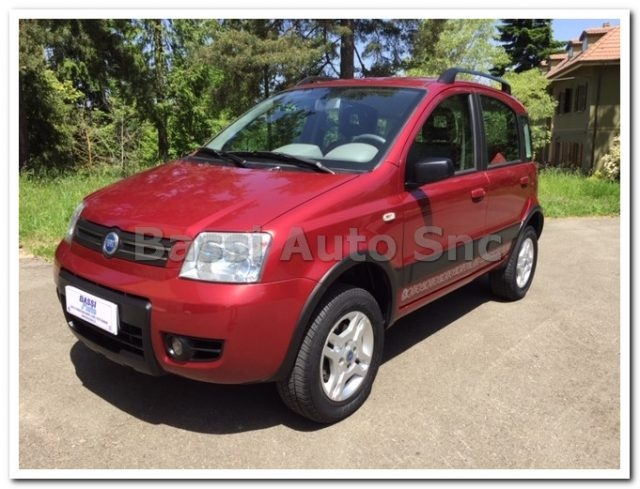 FIAT Panda Bordeaux metallized