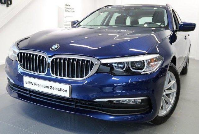 BMW 520 d Touring Sportline gancio traino + telecamera Immagine 1