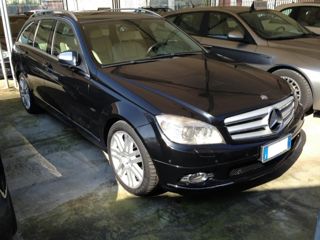 MERCEDES-BENZ C 320 Nero metallizzato