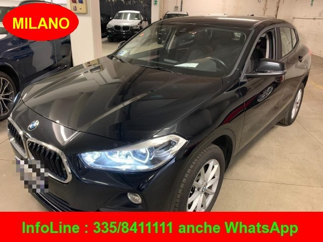 BMW X2 Black Saphire metallizzato