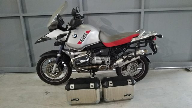 BMW R 1150 R Gray metallized