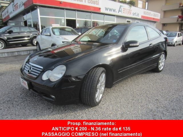 MERCEDES-BENZ C 180 Nero metallizzato