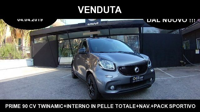 SMART ForFour Antracite metallizzato