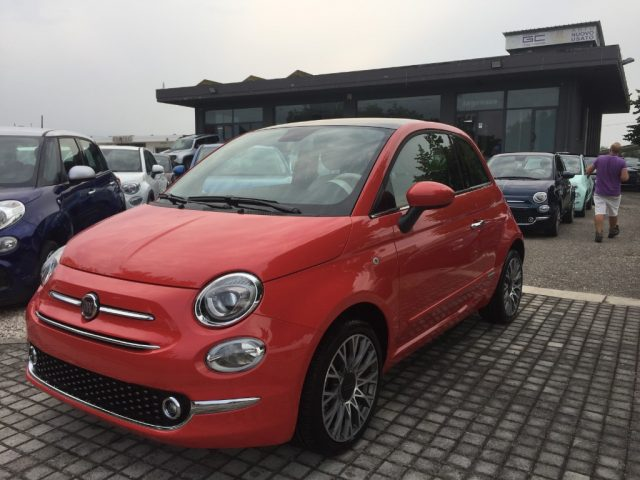 FIAT 500 Orange pastello
