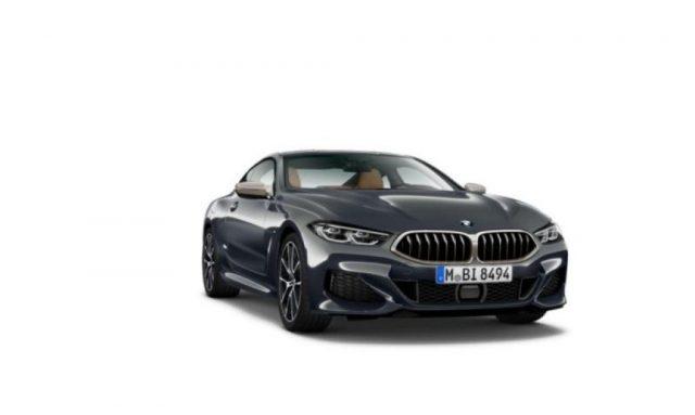 BMW 850 BMW 850 Mi xDrive Coupé Immagine 2