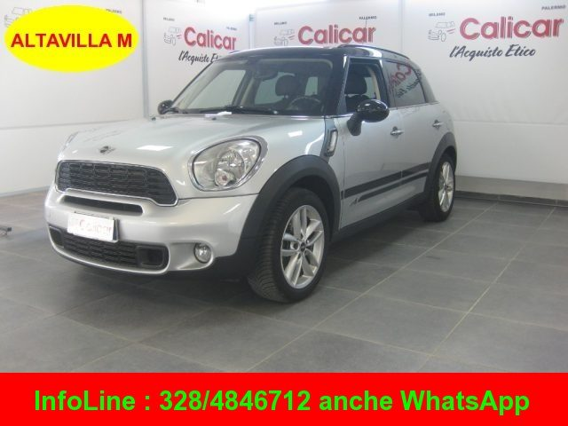 MINI Countryman Crystal Silver metallic metallizzato