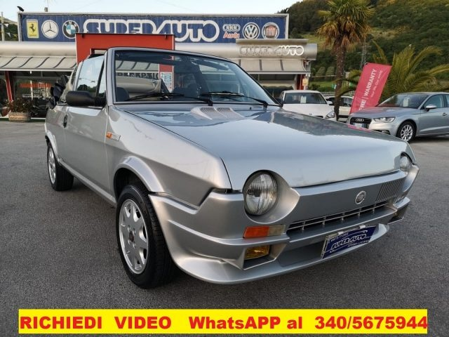 OLDTIMER Fiat RITMO 1.5  SUPER 1* SERIE  CABRIO / BERTONE Immagine 1