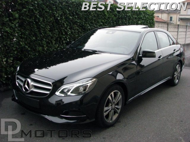 MERCEDES-BENZ E 200 Nero metallizzato