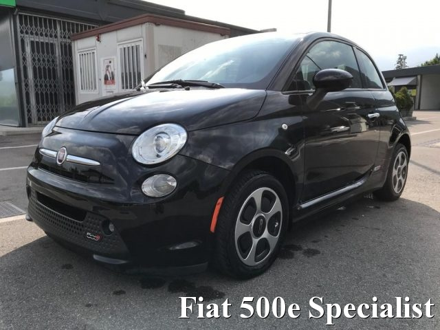 FIAT 500 Abarth Nero pastello