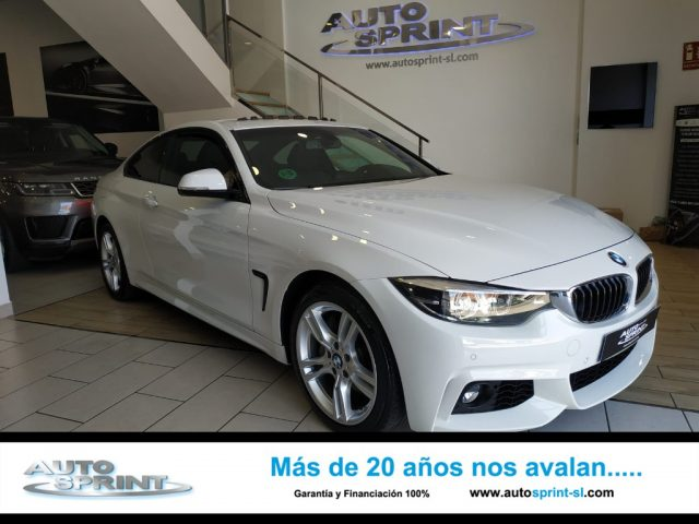 BMW 435 Blanco metalizada
