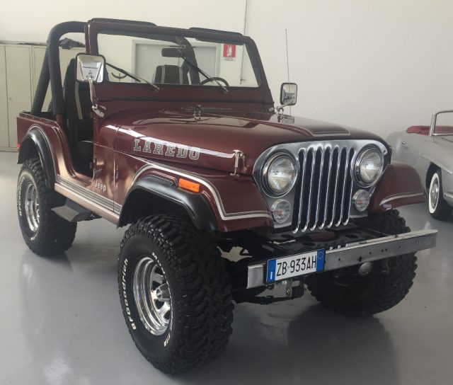 JEEP CJ-5 Bordeaux metallizzato