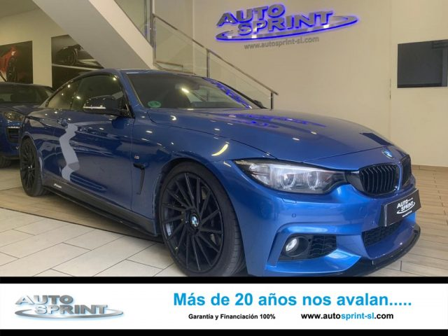 BMW 435 Azul metalizada