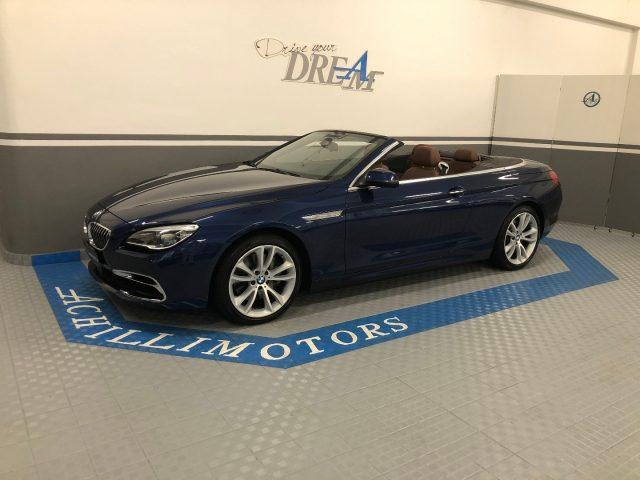 BMW 640 i Cabrio Luxury 1p. full iva inclusa Immagine 0