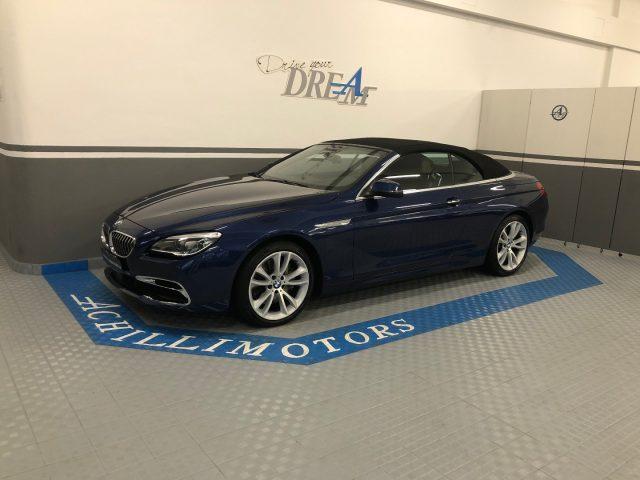 BMW 640 i Cabrio Luxury 1p. full iva inclusa Immagine 1