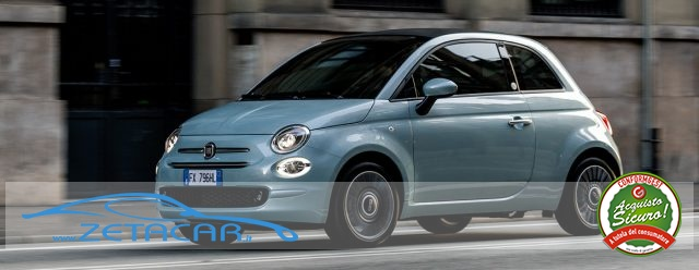FIAT 500 1.0 Hybrid CULT  * NUOVE * Immagine 2
