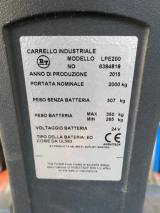 BT TRANSPALLET ELETTRICO LPE200 PER BINS ANNO 2015