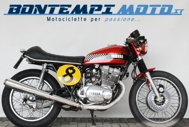 YAMAHA XS 500 Bordeaux metallized