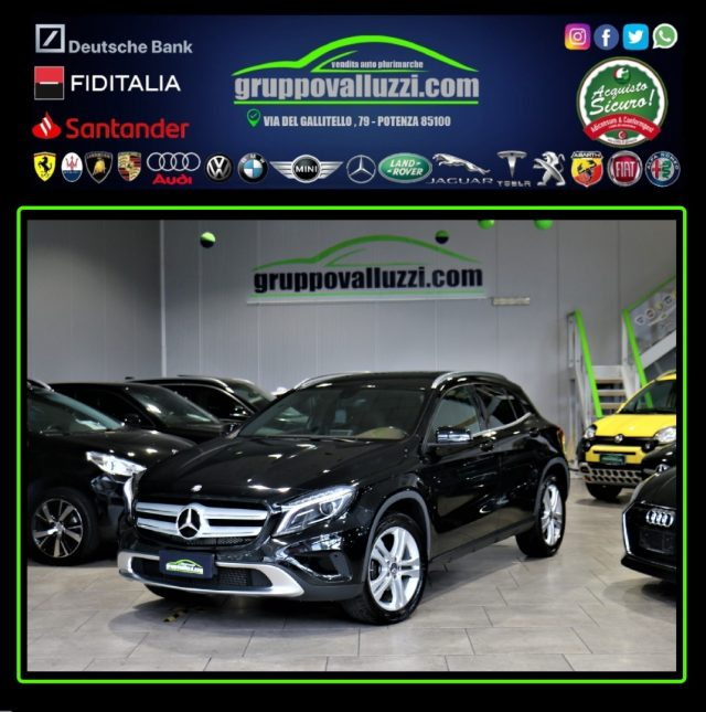 MERCEDES-BENZ GLA 200 Nero metallizzato