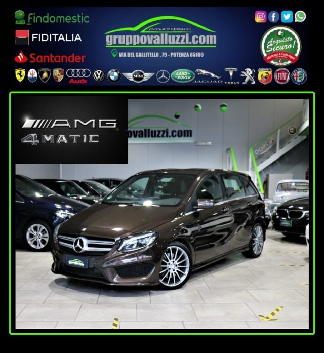 MERCEDES-BENZ B 220 Marrone metallizzato