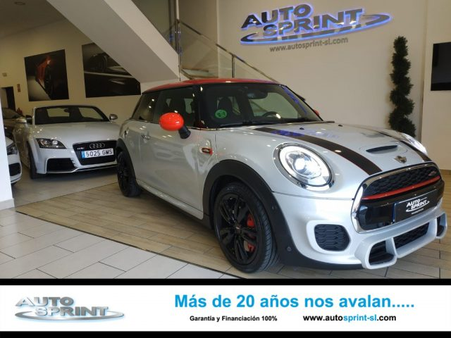 MINI John Cooper Works Blanco metalizada