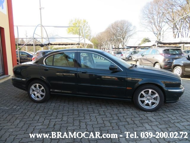 JAGUAR X-Type 2.0 V6 156cv 24v EXECUTIVE - KM 93.552 -PELLE - E4 Immagine 4