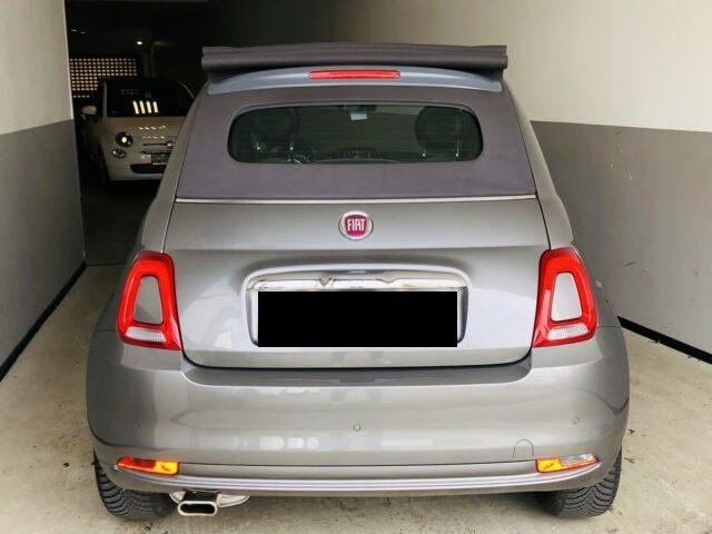 """FIAT 500C 1.2 69CV LOUNGE CABRIO NAVI 7"""" CARPLAY SENSORI Immagine 4"""
