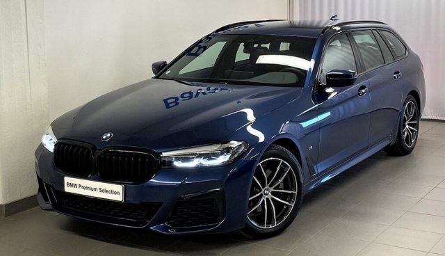 BMW 520 D XDrive Touring 48V MSPORT HYBRID MY 2021 gancio Immagine 0
