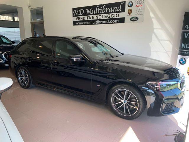 BMW 520 D XDrive Touring 48V MSPORT HYBRID MY 2021 gancio Immagine 2