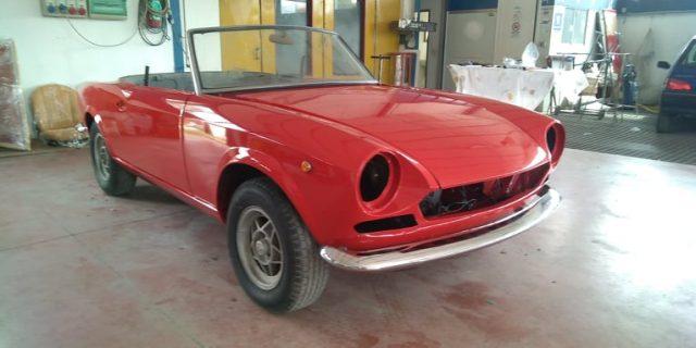 FIAT 124 Spider 1 serie anno 1968 100 km