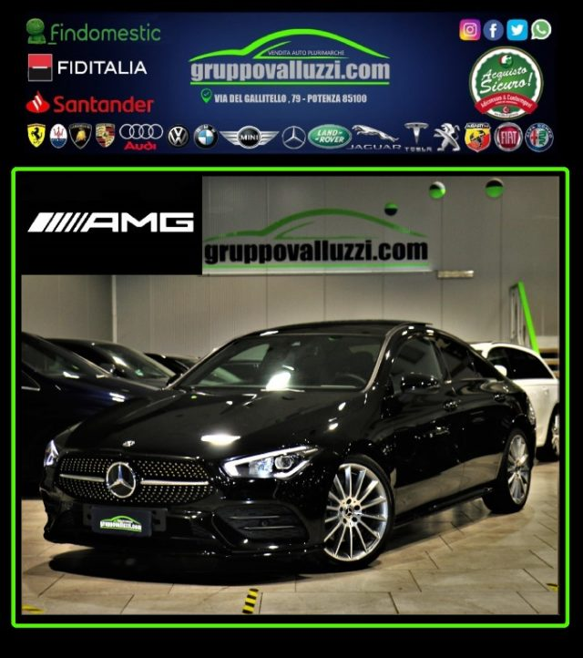 MERCEDES-BENZ CLA 220 Nero metallizzato