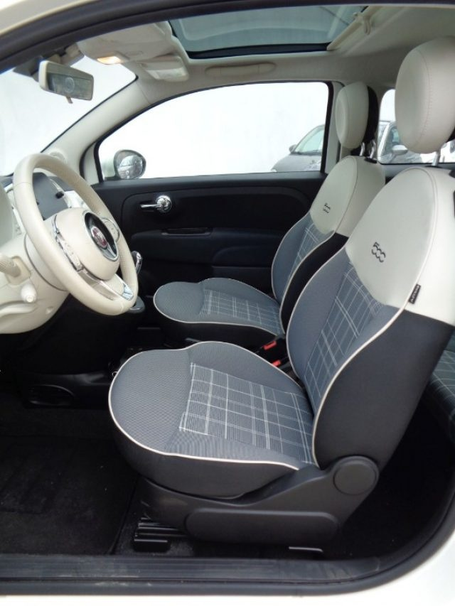 FIAT 500 1200 LOUNGE AUTOM. GPL 69 CV CARPLAY PDC FEND Immagine 4