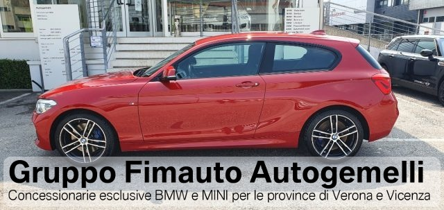 BMW 125 d Msport 3 porte Aut. Immagine 3